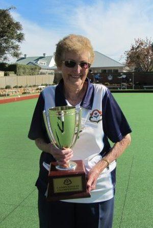 2017 Bowral Womens Club Singles Champion, Reta South