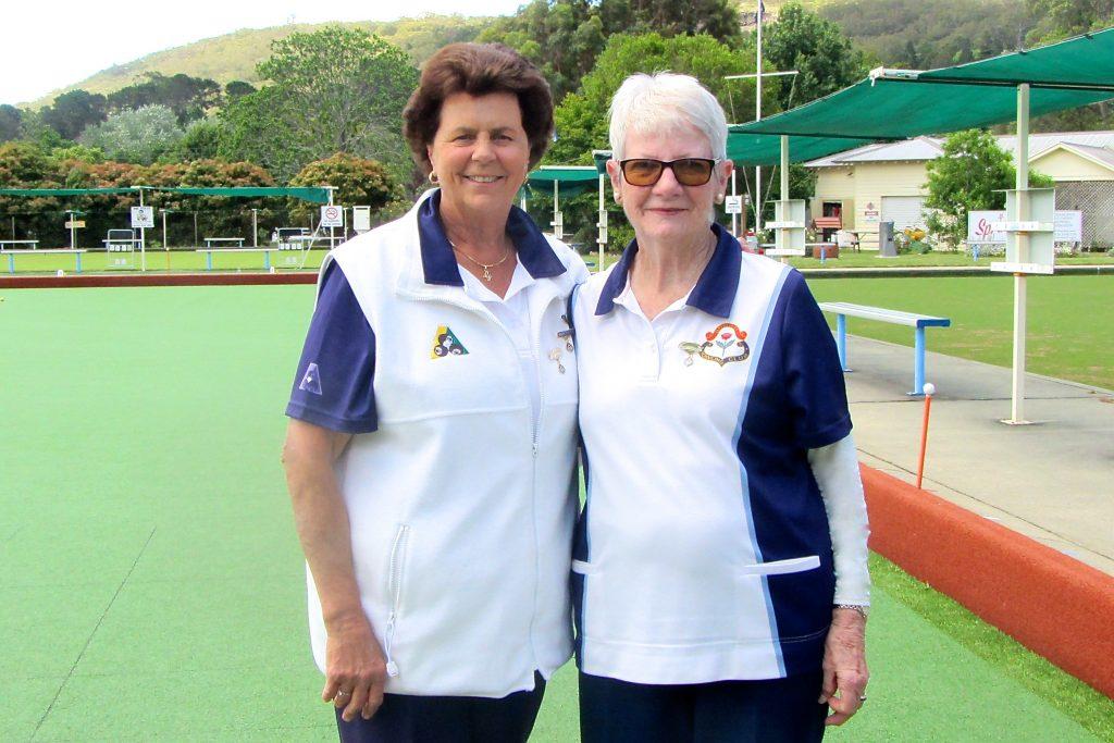 2017 Major / Minor Rotating Pairs Winners Gail Fraser and Margaret Pemberton