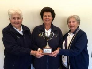 Winners of the Meg Bardwell Trophy 2016